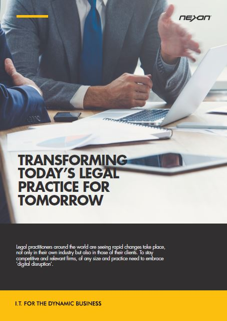 Transforming today's legal practice for tomorrow.